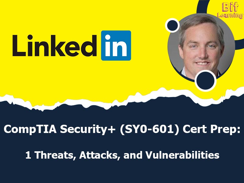 CompTIA Security+ (SY0-601) Cert Prep: 1 Threats, Attacks, and Vulnerabilities