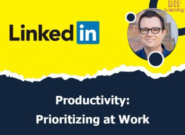 Productivity: Prioritizing at Work